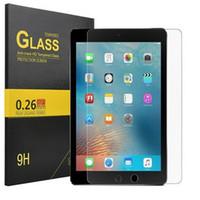 vidrio templado para tabletas al por mayor-9H HD 9.7 / 10.5 / 12.9 Inch Tablet Protector de pantalla de vidrio templado para iPad Pro 9.7 / 10.5 / 12.9 Inch Tablet Película de vidrio templado