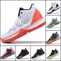 kds basketbol ayakkabıları toptan satış-2019 Yeni Basketbol Ayakkabıları Erkekler Için KDs 10 EP Zoom Mavi Beyaz Gri Gökkuşağı Out Sole Erkek Casual Sneakers
