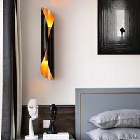 Nordic modern minimalist living room bedroom bedside wall lamp creative personality restaurant cafe light 110V 220V