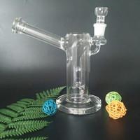 kann wasser großhandel-Erstaunliche Fuction Glas Bong Glas Wasserpfeifen Bongs mit Diffusionspumpe und Kugel 19mm Joint Glas 7,5 Zoll groß (VA-Rattle Can GB-446)