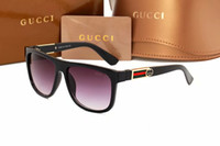 Wholesale italian brand sunglasses resale online - 2019 brand square women sunglasses italian brand designer men sun glasses mirror polarized driving spors eyeglasses