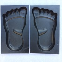 Wholesale foot steps for sale - Group buy 1 Pair Human Feet Footprints Stepping Stone Footprint Concrete Mold Garden