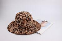 Wholesale plain fitted dresses for sale - Group buy Hot Leopard Print Bucket Hat Ladies Cap Fishing Hat Women Cloche Hat Outldoor Sun Hats for sale Summer Hats for women Ladies Dress Hats