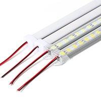 ingrosso led strips 14w-5730 led barra rigida rigida striscia rigida doppia fila non 12v 12mm PCB 72leds / 0,5 m