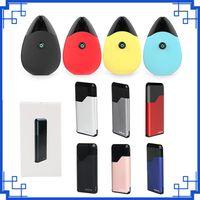 миниатюрная батарея vape оптовых-Suorin Drop pods Стартовый комплект с воздушными капсулами Универсальный стиль Vaping 2 мл Встроенный аккумулятор 400 мАч 310 мАч Портативный набор Vape vs th420 Mini K