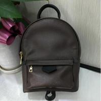 männer europäische schultertaschen großhandel-Qualität PU-Beutel der europäischen Männer berühmte Designer-Handtasche Handtasche Mini-Rucksack Marke Schultertasche 20 * 17 * 10cm