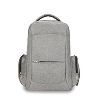 Wholesale new fashion strollers resale online - New USB Baby Care Double layer Travel Bag for Baby Stroller Dad bag Backpack New Diaper Fashion nappy Diaper Organizer