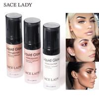 SACE LADY Ultra-Smooth Liquid Highlight 6 ml Lighweight Cheeck Glow Makeup highlighters