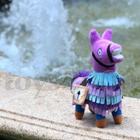 alpaca de arco-íris plush venda por atacado-8.5 Polegada Surpresa Original Caixa de Tesouro brinquedos de Pelúcia Troll Stash Llama Alpaca Rainbow Horse Quinzena Jogo brinquedos atacado 22