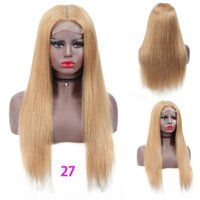 Wholesale brazilian lace wig 28 inches for sale - Group buy 28 inch Straight Lace Closure Wig Human Hair Lace Wigs Brazilian Remy Hair Lace Wig Human Hair Ombre Color