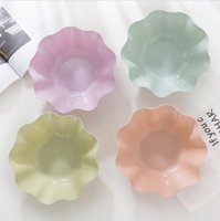 ingrosso portafogli in plastica-simpatici piatti in plastica per alimenti a forma di fiore a forma di pp, piatti da tavola, titolari, stoviglie, caramelle, frutta secca, spuntini, piatti, piatti, piattino