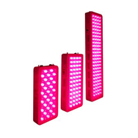 Skin and Pain Relief Deep Red 660nm Near Infrared 850nm full body Light Therapy Panel device with timer