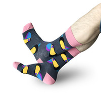 Wholesale adult pattern socks for sale - Group buy Newest Cartoon Socks for Men Women Adults Winter Stocking In Tube Sweat Absorbent Long stocking Bird Elephant Dolphin Pattern Socks M167Y