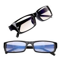 visiones ópticas al por mayor-Ordenador Rayos de luz azul Gafas ópticas PC Antirradiación Vidrio Visión Protección contra la tensión ocular Mujeres Hombres Gafas Marco