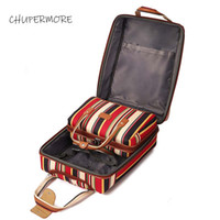 Wholesale suitcase online - Chupermore inch oxford Rolling Luggage set Spinner Women Brand Suitcase Wheels stripe Carry On Travel Bags