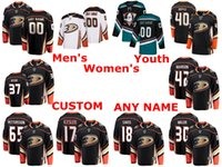 Wholesale ducks hockey jerseys for sale - Group buy Anaheim Ducks Jerseys Ryan Miller Jersey Patrick Eaves Marcus Pettersson Jaycob Megna Kevin Boyle Black White Hockey Jerseys Custom Stitched
