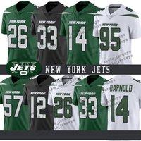 football jerseys toptan satış-New York Erkekler Jetler Jeresy 26 Le'Veon Bell 33 Jamal Adams 14 Sam Darnold 57 C. J. Mosley 12 Joe Namath Futbol Formaları