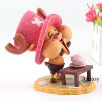 coleção feliz venda por atacado-Uma peça Tony Tony Chopper Happy Ver. PVC One Piece Figura Chopper Anime Action Figures Coleção Modelo Brinquedos