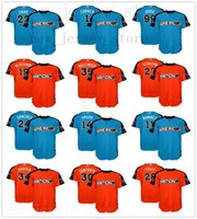 Wholesale baseball jerseys stars for sale - Group buy 2017 Mens All Star Game Jerseys Sale Sanchez Posey Harper Correa Lindor Bellinger Judge Smoak Molina Stitched