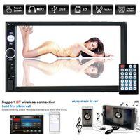 wifi pantalla táctil china al por mayor-DVD del coche 7 pulgadas HD Pantalla táctil Reproductor de estéreo MP5 para coche Radio Android IOS USB / TF + Cámara