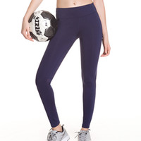 kleine strumpfhosen groihandel-Fitness Hosen Eng Anliegende Hose Sport Britches Frauen Yoga Klassische Feste Farben Mischen Kleine Füße Mode 35hqf1
