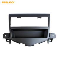 Wholesale dvd for car installation online - FEELDO Din Car Stereo Radio Refitting DVD frame For CHEVROLET Cruze Dashboard Panel Fascia Frame Installation Trim Kit