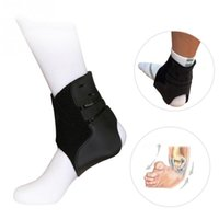 ремешок носки оптовых-Brace Protector Safety Rubber Breathable Socks Ankle Support Unisex Adjustable Strap Sprain Football Sports Foot Stabilizer
