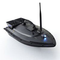 motores para rc barco al por mayor-Barco de cebo de pesca inteligente 500m Control remoto Buscador de peces Barco 1.5kg Carga RC Barco Lancha rápida con motores dobles Caliente