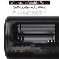 Wholesale bicycle mini air pump resale online - Air Compressor Portable Mini Inflator Smart Wireless Air Tyre Pump for Bicycle Motorcycle TD326