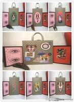 çanta kedi baskısı toptan satış-Yeni ürünler Yeni GG AKIM GG 18SUPREME SİYAH DERİ