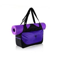 пакеты для упаковки пакетов оптовых-Maphissus Yoga Bag Водонепроницаемый Питьевой Рюкзак Плечо Пакет Спортивные Сумки Фитнес Duffel Одежда Тренажерный Зал Посылка Нет Коврик Для Йоги # 273545