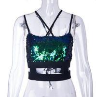 ingrosso set di reggiseno di lusso-2019 nuova moda Sexy paillettes in flash di lusso reggiseno Panty Donne floreale Set biancheria intima ragazze lingerie blu