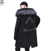 jaquetas de casaco de veludo venda por atacado-Jaqueta de inverno Quente Homens de veludo Grosso Jaquetas Quentes Parkas hombre Casaco Com Capuz dos homens longo trench coat EUA tamanho XS-XL
