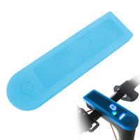 elektroroller wasserdicht großhandel-Silikonhülle Wasserdichte Armaturenbrettabdeckung Platine Silikonhülle für Xiaomi M365 / M365 Pro Elektroroller