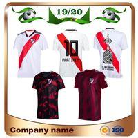 camisa de uniforme blanco al por mayor-2020 River Plate en casa blanco Fútbol Jersey River Plate lejos negro G.MARTINEZ QUINTERO PRATTOSoccer Camiseta 19/20 riverbed Uniforme de fútbol Venta