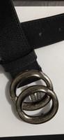 ceintures en cuir européennes achat en gros de-2019 style européen mode litchi grain route vachette ceintures en cuir ceinture et hommes et femmes ceinture ceintures de haute qualité avec boîte