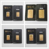 medalhas frete grátis venda por atacado-Atacado! 1 oz 999 FINE Austrália The Perth Mint Bullion Bar copa bar medalha moedas colecionáveis, 20 pcs, frete grátis