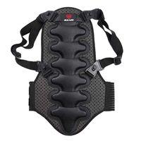 ingrosso schienale biciclette-Nuovo corsetto per la protezione della schiena Moto Bike Vest corpo posteriore protettiva sci corpo colonna postura correttore # 119274