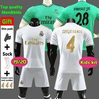 c43e575b7f4 New 2019 Real Madrid home Soccer Jerseys 19 20 Real Madrid home Soccer shirt  kids kit MODRIC ASENSIO VINICIUS JR ISCO KROOS Football uniform