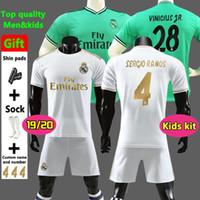 f2ce1e71c New 2019 Real Madrid home Soccer Jerseys 19 20 Real Madrid home Soccer shirt  kids kit MODRIC ASENSIO VINICIUS JR ISCO KROOS Football uniform