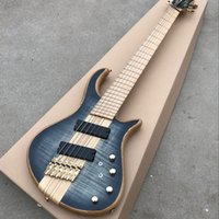 Wholesale one piece bass neck for sale - Group buy Strings Electric Bass Guitar Maple Body one piece set neck Bass active pickups Guitar Bass Music instruments