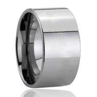 полировальные трубы оптовых-Оптовые продажи заполированности кольца карбида вольфрама отрезка плоской трубы 10mm высокие