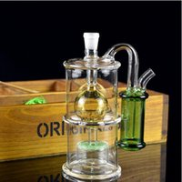Wholesale anti sand glasses for sale - Group buy Manufacturers direct new anti water design sand sheet quiet filter water pipe cute mini oil rig as a Christmas gift