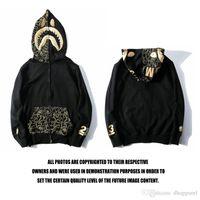 schwarze strickjacke aus baumwolle großhandel-Neue Großhandel Liebhaber Schwarze Strickjacke Reißverschluss Hoodie Baumwolle Lässige Pullover Männer Frauen Casual Hip Hop Zipper Streetwear