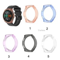 Wholesale huawei gt smartwatch for sale – best Silicone Case Soft TPU Cover For Huawei Watch GT e Smartwatch Protector Frame For Huawei GT E Protector Sleeve Shell Hot sale