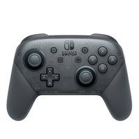 joypad joypad gamepad venda por atacado-NOVO Controlador Remoto Sem Fio Bluetooth Pro Joypad Gamepad Joypad Para Nintendo Switch Pro Console Top Quality