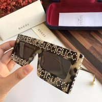sıcak moda adam güneş gözlüğü toptan satış-Yeni moda tasarım güneş gözlüğü erkek ve kadın güneş gözlüğü marka sıcak açık güneşlenme gölge ayna UV400 mercek lüks 0431 vhjkghkjg güneş gözlüğü
