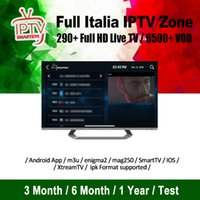 Wholesale arabic iptv box free tv online - Italy iptv live Channels Free Adults VOD Europe Arabic USA Support Android m3u enigma2 mag250 iptv subscription for iptv box