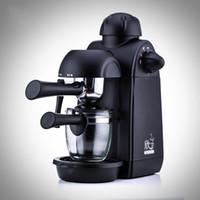 насос высокого давления оптовых-Китай продукты главная портативный полуавтоматический кофе машина паровой насос тип давления старинные кофеварка черный хорошее качество 175qc Ww