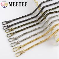 Wholesale luggage bag strap resale online - Meetee cm Metal Bag Chain For Handbag Bag Strap belts women messenger Purse Luggage Hardware Accessories F7